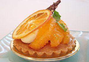 初夏の新メニュー『タルト・オレンジ』