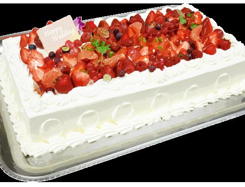 パーティケーキ長方形